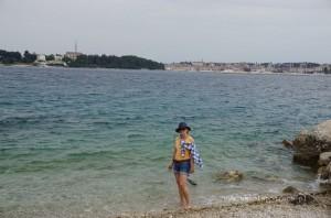 BoRa na wybrzeżu Rovinj