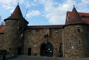 Brama wjazdowa do zamku Czocha