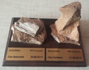 Kamienie z Jagodnej i Waligóry