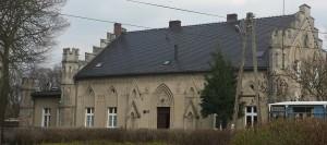 Obok pałacu w Goscieszynie
