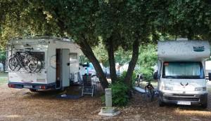 Obsypane kampery