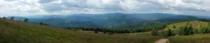 Panorama spod Mogielicy
