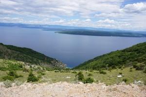 Panorama z Cres