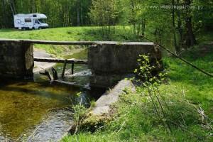 Pierwszy mostek na Gwdzie