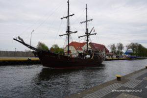 Statek na Wieprzy