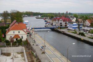 Widok na Darłówko