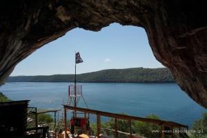 Widok z jaskini