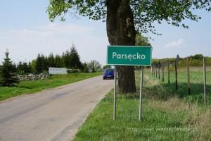 Wjazd do Parsęcka