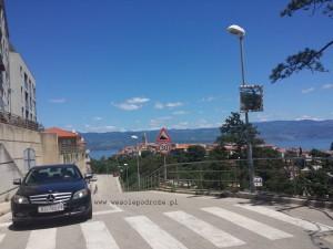 Wjazd do Vrbnik