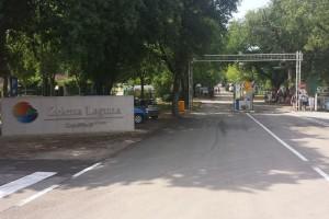 Wjazd do Zelenej Laguny